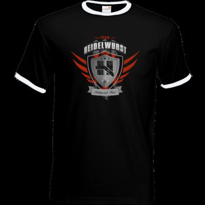 Motiv: T-Shirt Ringer - Team Heidelwurst