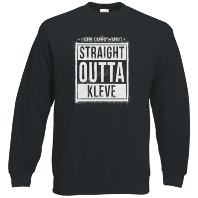 Motiv: Sweatshirt Classic - Curry - Straight Outta Kleve