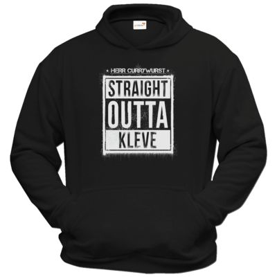 Motiv: Hoodie Classic - Curry - Straight Outta Kleve