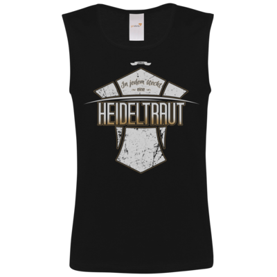 Motiv: Athletic Vest FAIR WEAR - Heidelwurst Merch - Heideltraut - Slogan