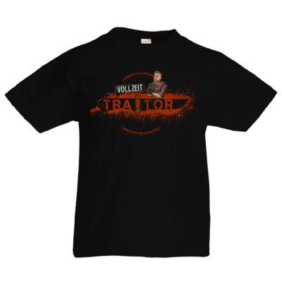 Motiv: Kids T-Shirt Premium FAIR WEAR - Heidelwurst Merch - Curry - Vollzeit Traitor