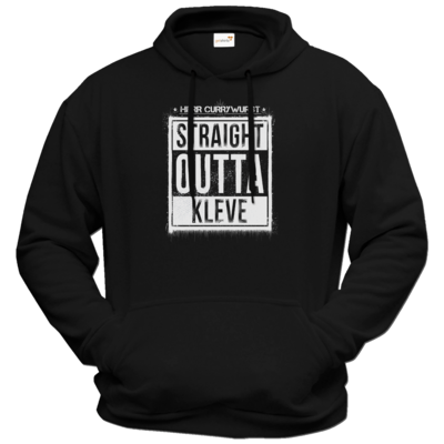 Motiv: Hoodie Premium FAIR WEAR - Curry - Straight Outta Kleve