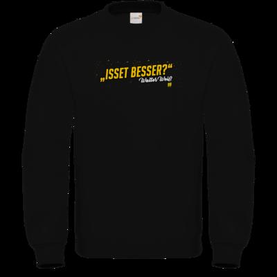 Motiv: Sweatshirt FAIR WEAR - Walter Weiss - Isset besser