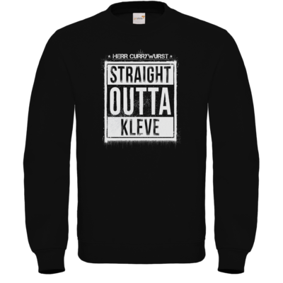 Motiv: Sweatshirt FAIR WEAR - Curry - Straight Outta Kleve