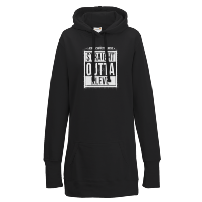 Motiv: Lady Longline Hoodie - Curry - Straight Outta Kleve