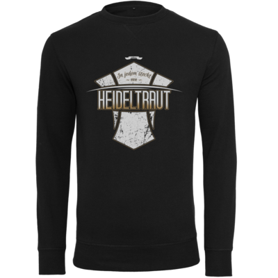 Motiv: Light Crew Sweatshirt - Heidelwurst Merch - Heideltraut - Slogan
