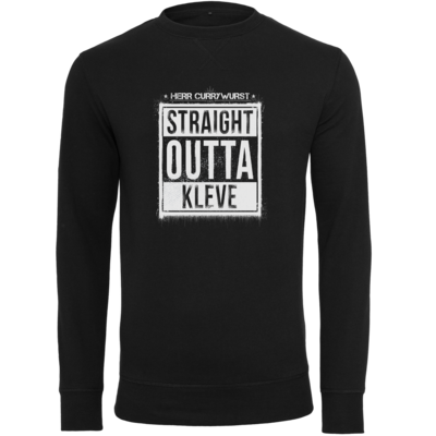 Motiv: Light Crew Sweatshirt - Curry - Straight Outta Kleve