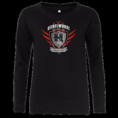 Motiv: Girlie Sweatshirt - Team Heidelwurst