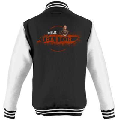 Motiv: College Jacke - Heidelwurst Merch - Curry - Vollzeit Traitor
