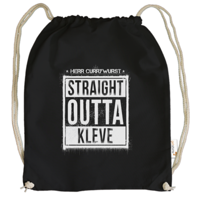 Motiv: Cotton Gymsac - Curry - Straight Outta Kleve