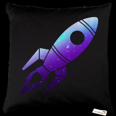 Motiv: Kissen Baumwolle - Rocket