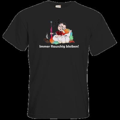 Motiv: T-Shirt Premium FAIR WEAR - Immer flauschig bleiben