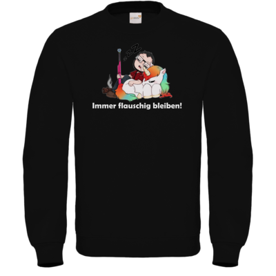 Motiv: Sweatshirt FAIR WEAR - Immer flauschig bleiben