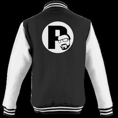 Motiv: College Jacke - DerPeci - Logo