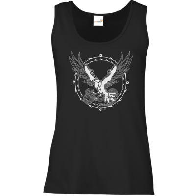 Motiv: Tank Top Damen Classic - Phileasson - Walknoten uni