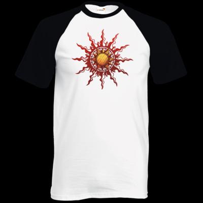 Motiv: TShirt Baseball - Götter - Praios - Symbol