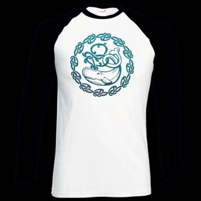 Motiv: Longsleeve Baseball T - Götter - Swafnir - Symbol