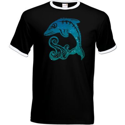 Motiv: T-Shirt Ringer - Götter - Efferd - Symbol