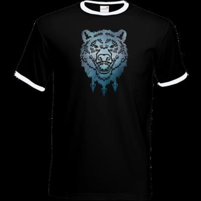 Motiv: T-Shirt Ringer - Götter - Firun - Symbol