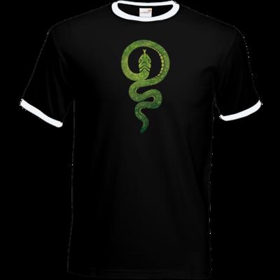 Motiv: T-Shirt Ringer - Götter - Hesinde - Symbol