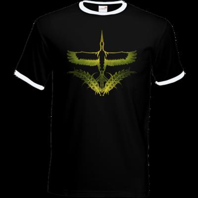 Motiv: T-Shirt Ringer - Götter - Peraine - Symbol