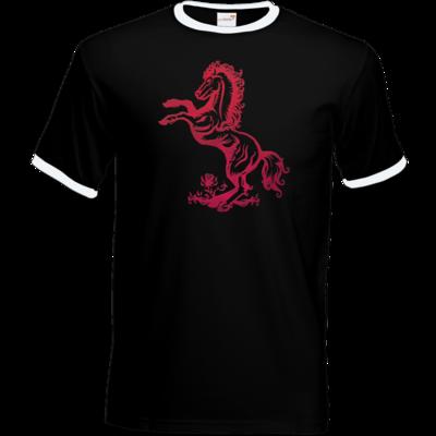 Motiv: T-Shirt Ringer - Götter - Rahja - Symbol