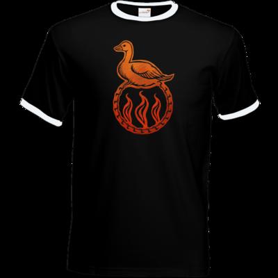 Motiv: T-Shirt Ringer - Götter - Travia - Symbol