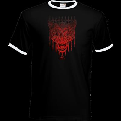 Motiv: T-Shirt Ringer - Götter - Kor - Symbol