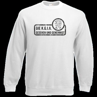 Motiv: Sweatshirt Classic - Sprüche - KGIA - Gesehen und genehmigt