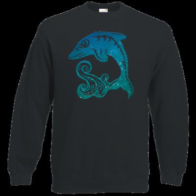 Motiv: Sweatshirt Classic - Götter - Efferd - Symbol