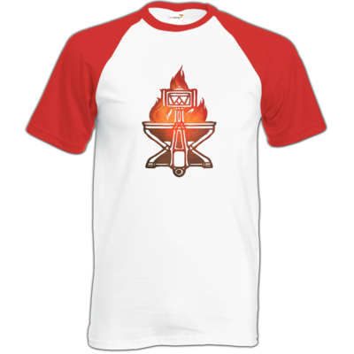Motiv: Baseball-T FAIR WEAR - Götter - Ingerimm - Symbol