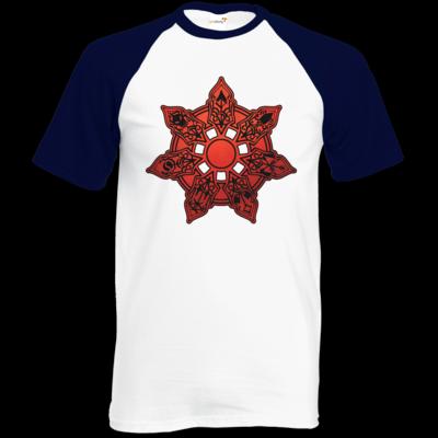 Motiv: Baseball-T FAIR WEAR - Götter - Borbarad - Symbol