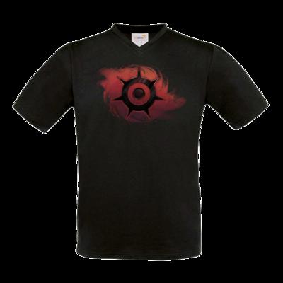 Motiv: T-Shirt V-Neck FAIR WEAR - Götter und Dämonen - Dämonenkrone