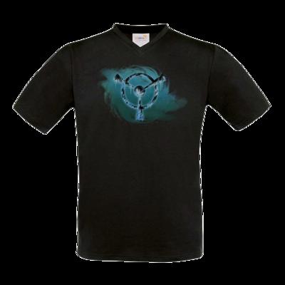 Motiv: T-Shirt V-Neck FAIR WEAR - Götter und Dämonen - Namenloser Frost