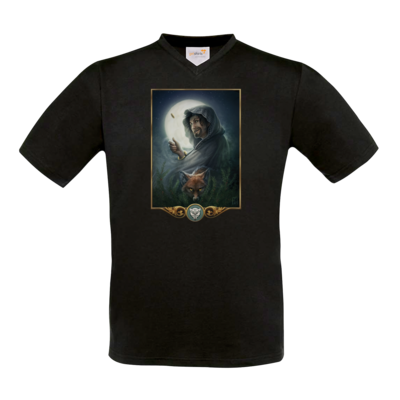 Motiv: T-Shirt V-Neck FAIR WEAR - Götter - Phex