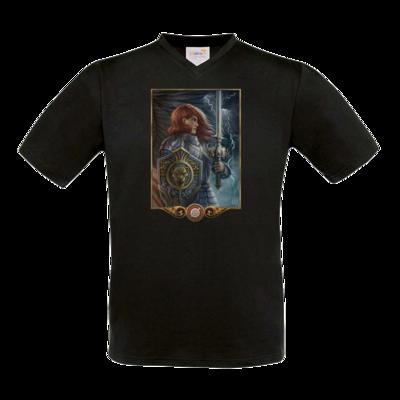 Motiv: T-Shirt V-Neck FAIR WEAR - Götter - Rondra