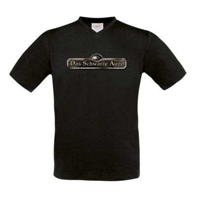 Motiv: T-Shirt V-Neck FAIR WEAR - Logos - Schriftzug Das Schwarze Auge