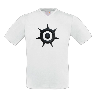 Motiv: T-Shirt V-Neck FAIR WEAR - Götter und Dämonen - Dämonenkrone solo