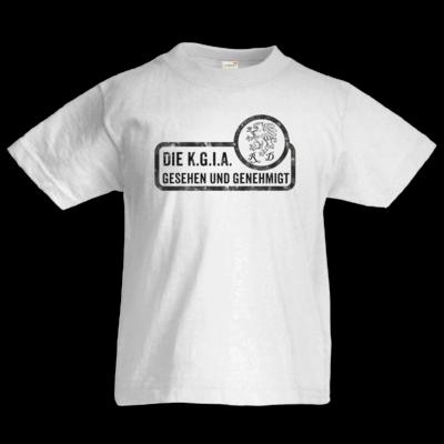 Motiv: Kids T-Shirt Premium FAIR WEAR - Sprüche - KGIA - Gesehen und genehmigt