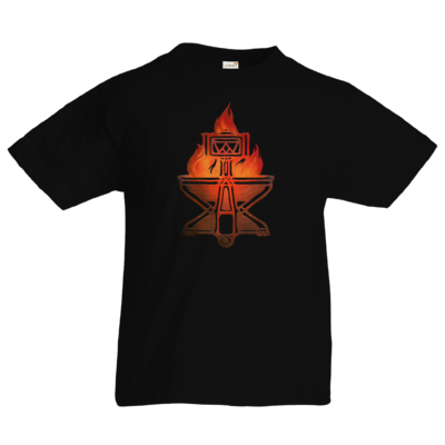 Motiv: Kids T-Shirt Premium FAIR WEAR - Götter - Ingerimm - Symbol