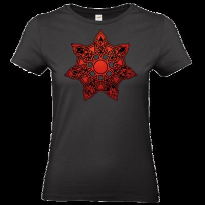 Motiv: T-Shirt Damen Premium FAIR WEAR - Götter - Borbarad - Symbol