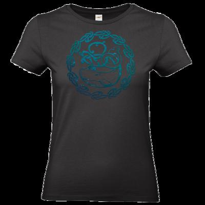 Motiv: T-Shirt Damen Premium FAIR WEAR - Götter - Swafnir - Symbol