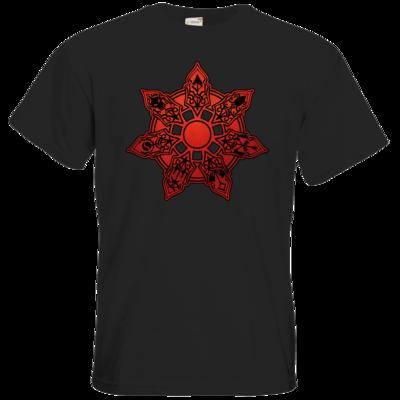 Motiv: T-Shirt Premium FAIR WEAR - Götter - Borbarad - Symbol
