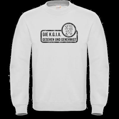 Motiv: Sweatshirt FAIR WEAR - Sprüche - KGIA - Gesehen und genehmigt