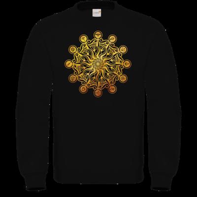 Motiv: Sweatshirt FAIR WEAR - Götter - Bund des wahren Glaubens -Symbol
