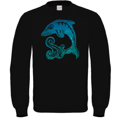 Motiv: Sweatshirt FAIR WEAR - Götter - Efferd - Symbol