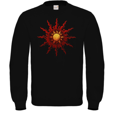 Motiv: Sweatshirt FAIR WEAR - Götter - Praios - Symbol