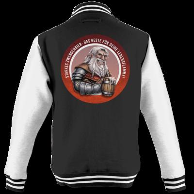 Motiv: College Jacke - Sprüche - Zwergenbier