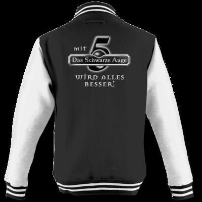 Motiv: College Jacke - Sprüche - Mit DSA5 wird alles besser