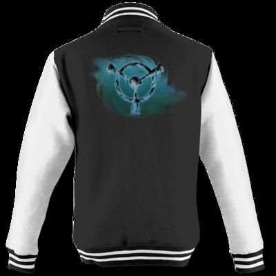 Motiv: College Jacke - Götter und Dämonen - Namenloser Frost